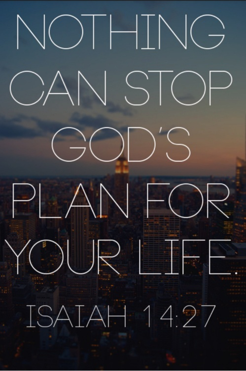 Nothing Hinders His Plans………………..