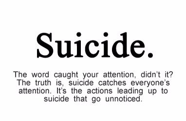Suicide is Not TheAnswer